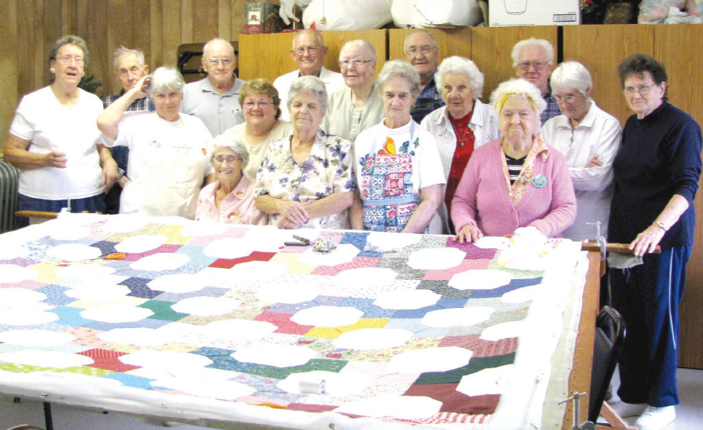 Happy campers at the Nectar Senior Center