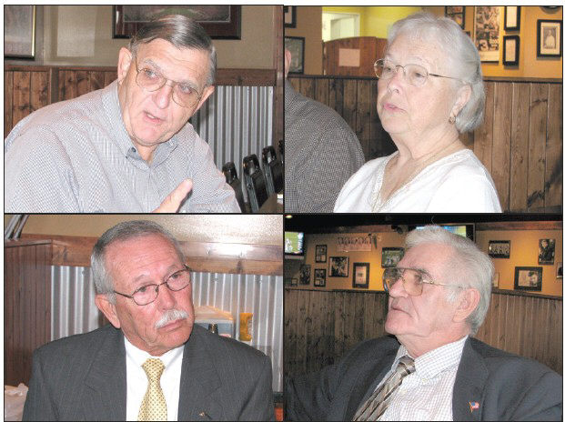 Clockwise from top left: Jamie Brothers, Susan Moore; Thelma Smith, Hayden; Andy Ellis, Rosa; Darryl Ray, Oneonta.