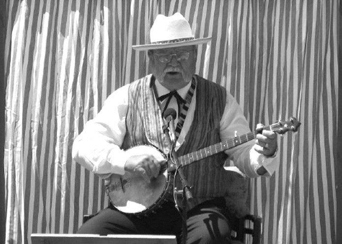 Riverboat John Ferguson, tall-tale teller and musician of Americana