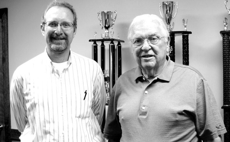 Keith Hamby and Vance Morton