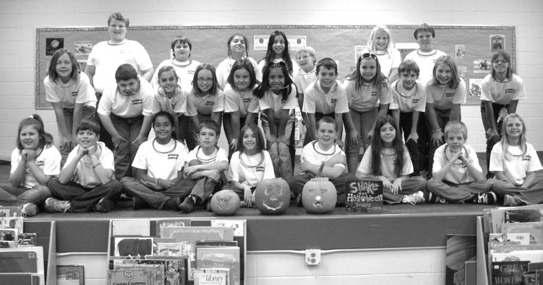 """Blountsville Elementary students are ready to """"shake their bones"""" for Halloween play."""