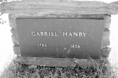 Tomb of Gabriel Hanby