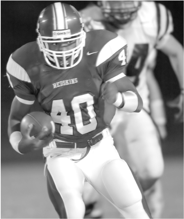 Anthony Mostella was the 3A Back of the Year in 2005 at Oneonta.