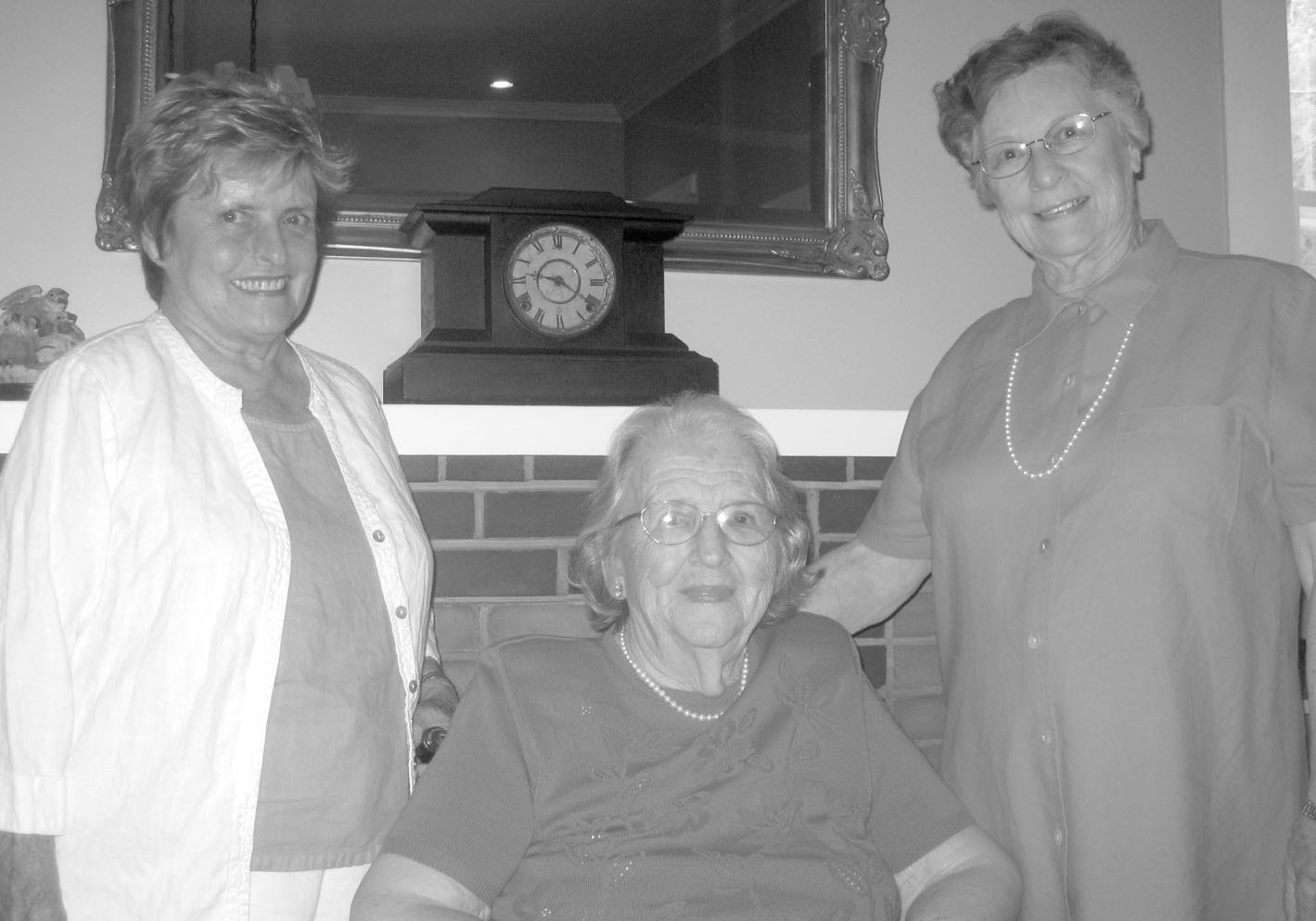 Lester Memorial members from left Martha Burdette, Agnes Greenhaw, and Sylvia Fowler all have a stake in upcoming gospel concert. The concert is dedicated to Mrs. Greenhaw, who turns 100 this month. Fowler helped initiate the concert series five years ago when she lobbied tirelessly for a public performance of a private choir memorial sung at the funeral of Tom Vaughn. The concert became an instant classic. Burdette represents the Lester Memorial choir and music department.