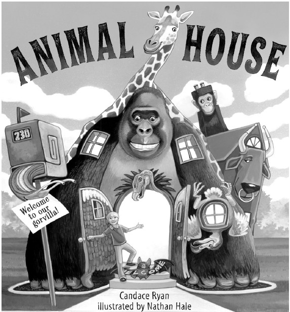 Animal House by Candace Ryan, illustrated by Nathan Hale, c.2010, Walker & Company, $16.99 / $21.00 Canada, 40 pages.