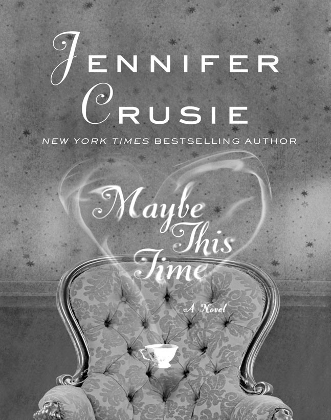 Maybe This Time by Jennifer Crusie, c. 2010, St. Martin's Press, $24.99 / $28.99 Canada, 342 pages.