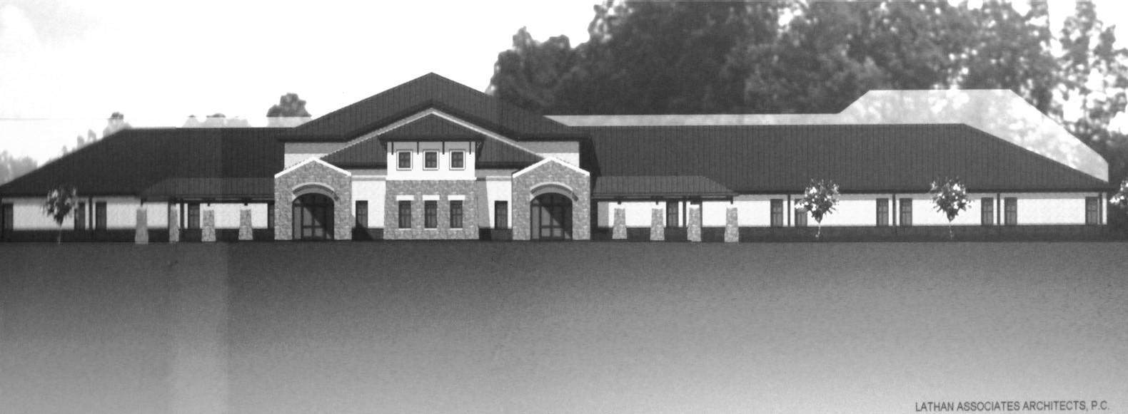 Artist rendering of Southeastern High School