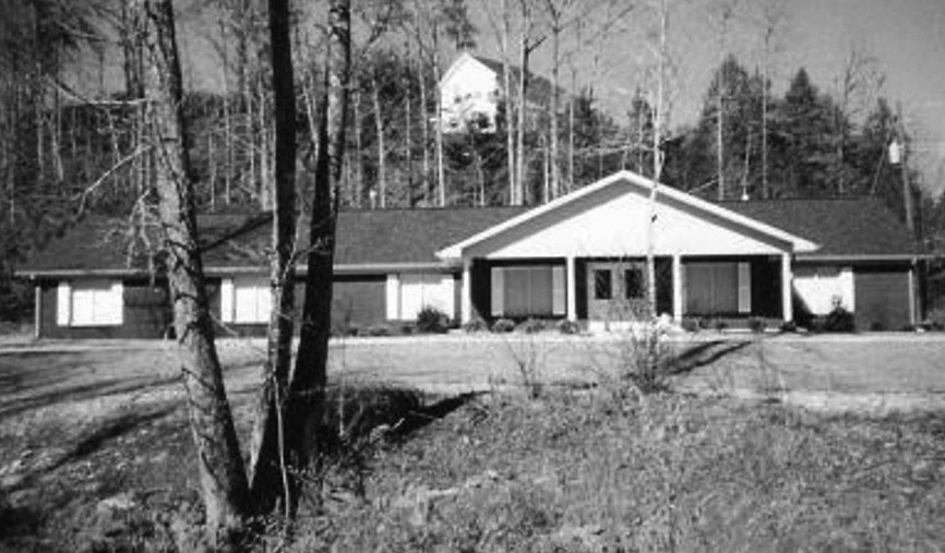 This inviting dwelling on wooded property speaks of love and security provided residents of Alabama Youth Home.