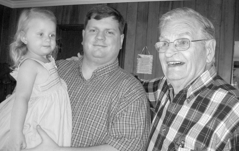 Birthday Bunch: Cecilia Elise Adkinson, William Jesse Adkinson, and Bill Ryan