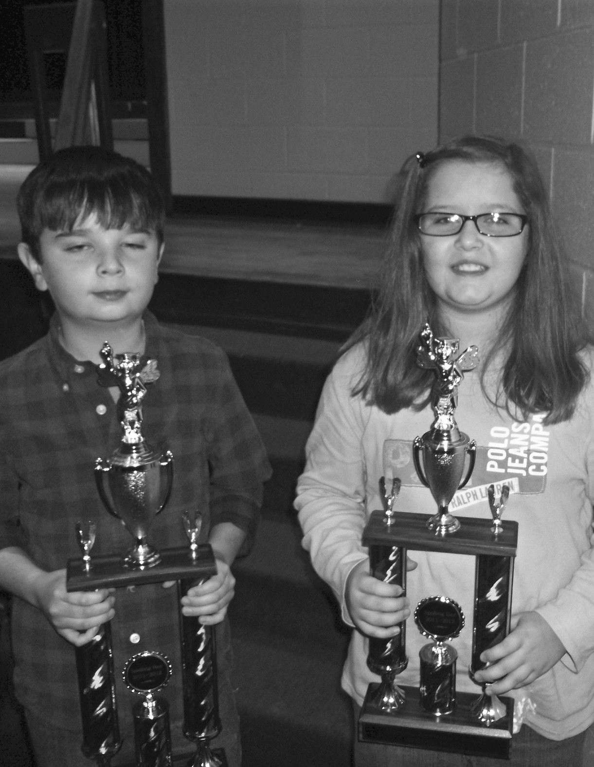 The Oneonta Elementary School Spelling Bee was held recently at the school. Winners were: first place – Dylan Salter, son of Jill and Derek Sherbet; and second place – Emily Fendley, daughter of Lori and Scott Fendley.