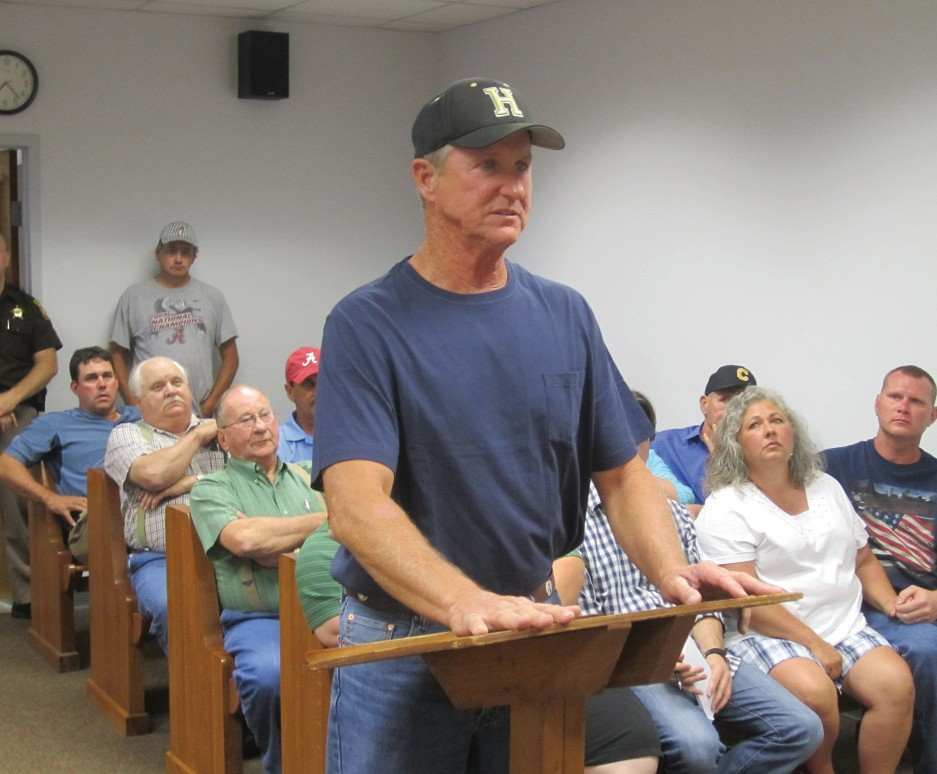 """Landfill owner/operator Bud Adams to Blount County Commission: """"If I thought it (expanding the coverage area) would hurt Blount County, I wouldn't do it."""""""