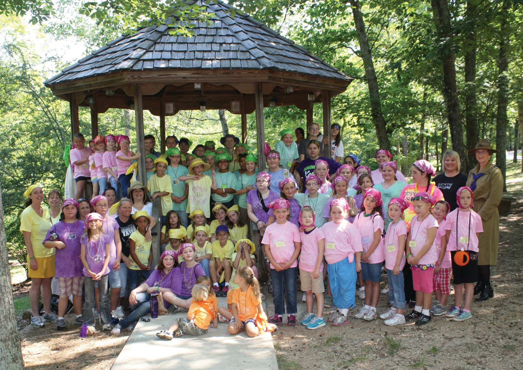 The Girl Scouts' annual daycamp has been at Palisades Park for more than 30 years.