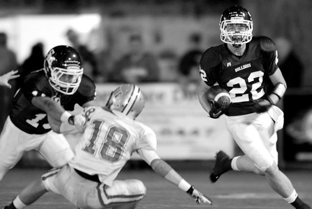 Bulldog running back Preston Kent finds some room during last year's game against Hokes Bluff.