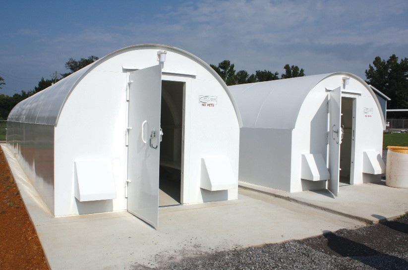 Cleveland's storm shelters are now open to the public.