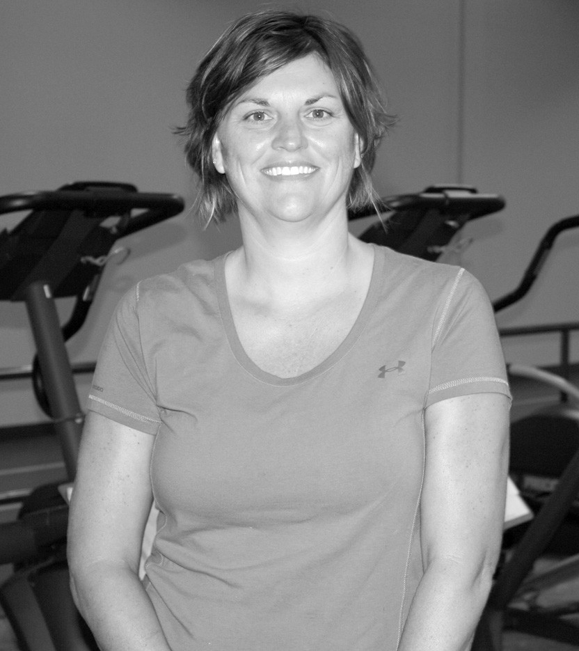 Lynn Pass, owner of The Gym, encourages people of all age groups to join.
