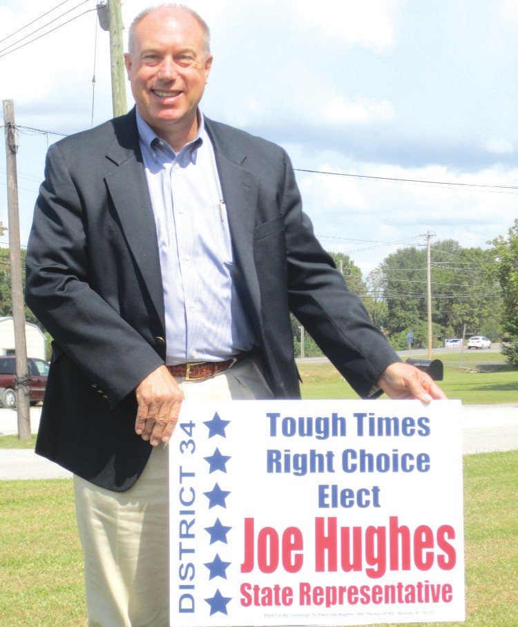 """What makes Joe Hughes run? """"I just felt there is a need for somebody to pick up the baton and keep Blount County moving in a positive and forward-thinking way. I can bring Blount County's voice to the table."""""""