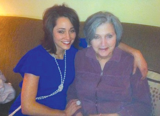 Shawn Hazelrig (left) will run the Boston Marathon in honor of her mother-in-law Becky Hazelrig (right).