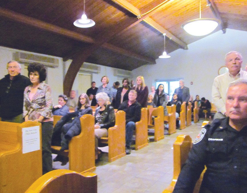 The chambers were full for last's week's meeting of the Oneonta City Council.