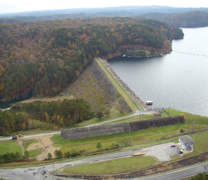 """""""There's not really a leak,"""" Armstrong said. """"All dams have seepage and there was something different about it. The lake is now being drained down and scheduled maintenance is being performed."""" Armstrong says this maintenance was part of the five-year plan, but after the seepage spot was discovered to be abnormal, the board decided to expedite the process. He also said there is no threat to the surrounding community because of the recent discovery. """"This isn't an emergency,"""" he said. """"We"""