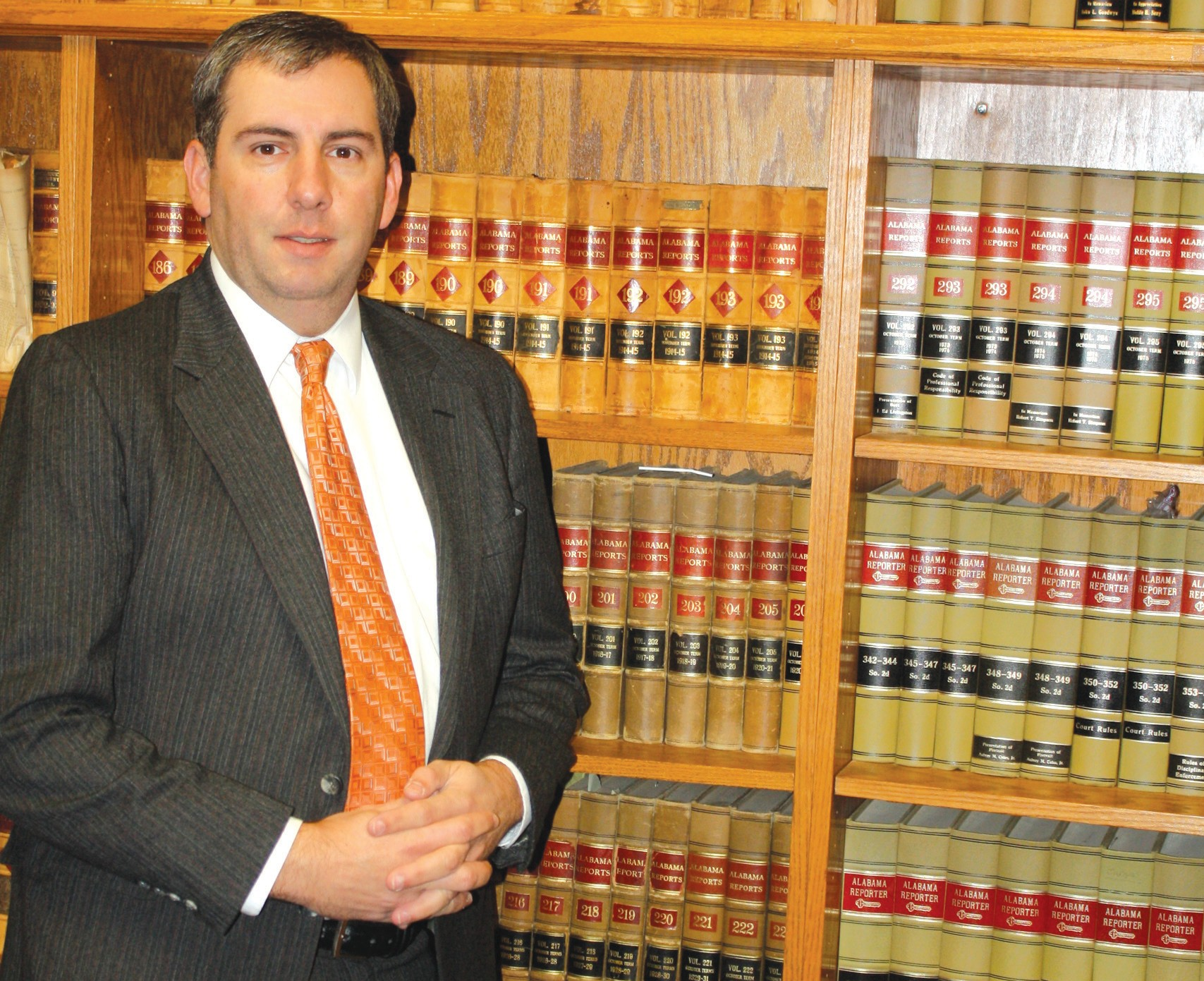 Local attorney Bill Burns is president of the Blount County Bar Association, which will be hosting a free legal clinic in January.