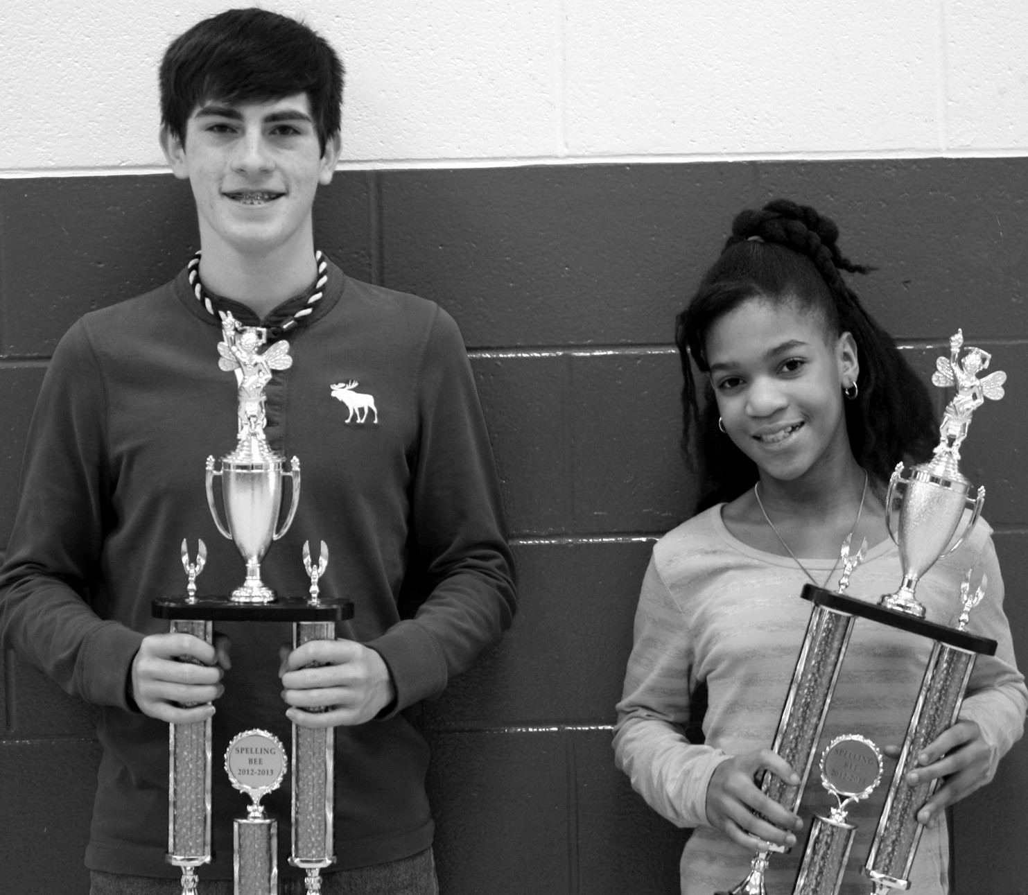 Last Wednesday, 26 Oneonta students from grades 4 – 8 participated in the Oneonta City School Spelling Bee. OHS winner Matilon Nash won after correctly spelling the word 'consignment,' and Kayla Thomas was named the elementary winner after spelling 'ardent' accurately. Nash and Thomas will advance to the Blount County Spelling Bee on Tuesday, Feb. 5, at 9 a.m. at J.B. Pennington High School. – Nicole Singleton