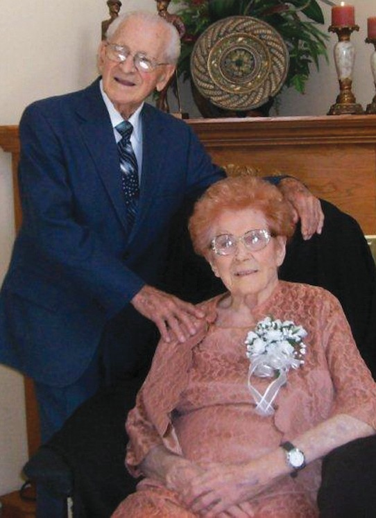 Bob and Dottie Santini celebrated 70 years of marriage in September.