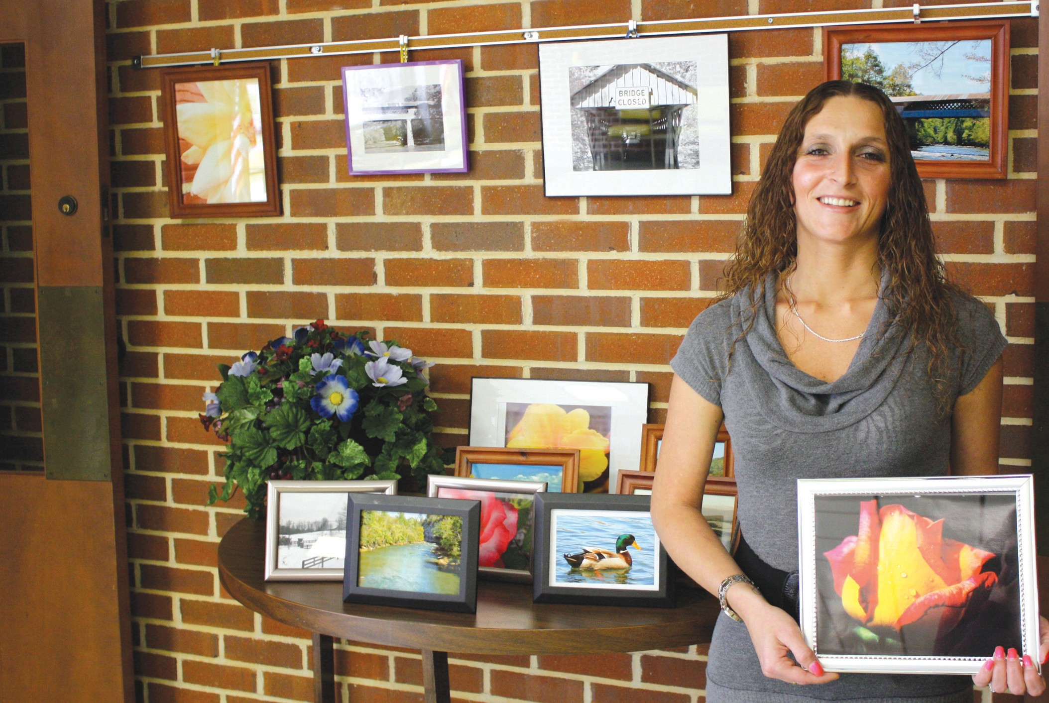 Regina Fuller photographs Blount County nature and was chosen as a featured artist by the Blount County Memorial Museum.