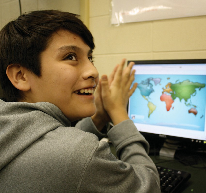 Last week, sixth grader Arturo Rico and his class competed against students from different countries during World Math Day.