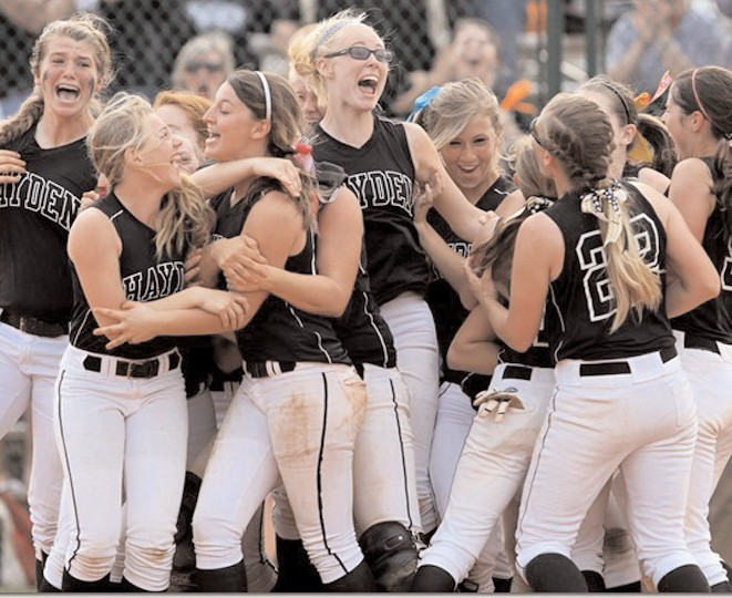 The Hayden Lady Wildcats won the first state title in school history last week at the Alabama High School Athletic Association (AHSAA) State Softball Tournament at Lagoon Park in Montgomery. Hayden defeated Shelby County (12-0) and Saraland (3- 2) on Friday and then knocked off top-ranked Scottsboro twice (2-0, 1-0) on Saturday to win the 5A title. Senior pitcher Caitlyn Kirkland got the win in three of the four games in Montgomery and was named the tournament MVP. -Rob Rice