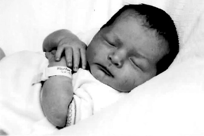 Tucker Jase Martin was born May 8, 2013, at St. Vincent's Hospital, Birmingham, weighing 7 lbs. 9 oz. and measuring 19.5 inches long. He is the son of Bo and Paige Martin of Oneonta. Proud brother Tanner is 2 years old. Grandparents are Dennis and Sandy Nix and Jim and Cheryl Martin of Oneonta. Great-grandparents are Howard 'Happy' Nix and the late Luvenia Nix, Ralph Morton and the late Ina Morton, Oneonta, James and Edith Martin, Center Point, Jeannine Kennington, Trussville. Aunts and uncles include Brian and Kristy Espy, Millbrook, Caleb and Amber Martin, Springville, Hanna Martin, Oneonta. Cousins are Madeline Espy and John Espy.