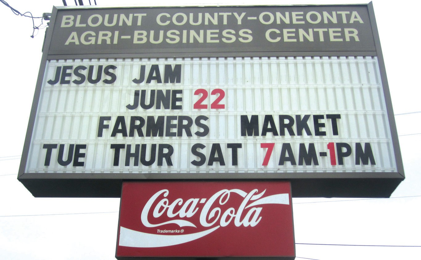 Agri-Business Center marquee provides example of a type of non-traditional event that could be increasingly recruited there.