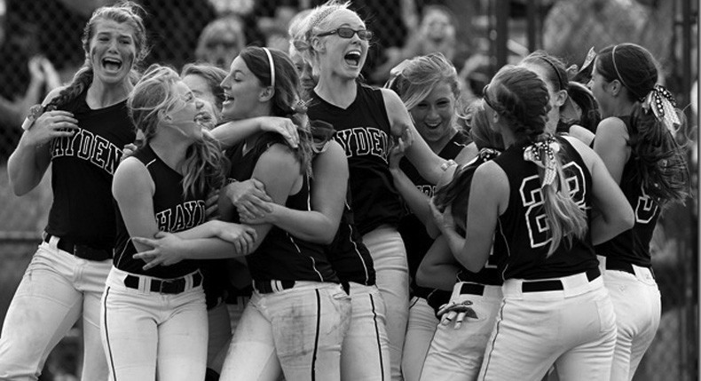 Hayden High softball team – 2013 5A champions