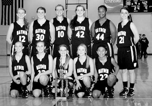 The Hayden Lady Wildcats improved to 12-4 after winning their own Christmas tournament.