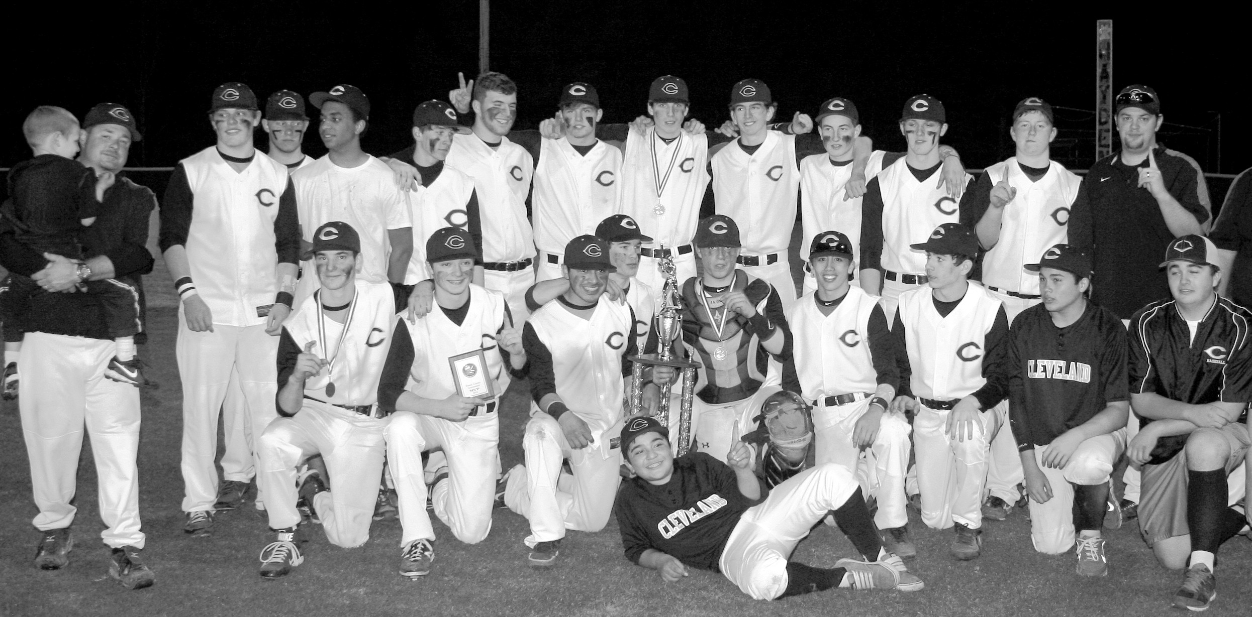 The Cleveland Panthers, the 2014 Blount County Tournament champions