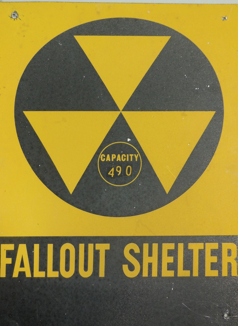 During the Cold War era, certain areas were designated as fallout shelters. In Blount County, this included the courthouse, and this sign remained on the outside of the building until three years ago, according to EMA Director Max Armstrong.