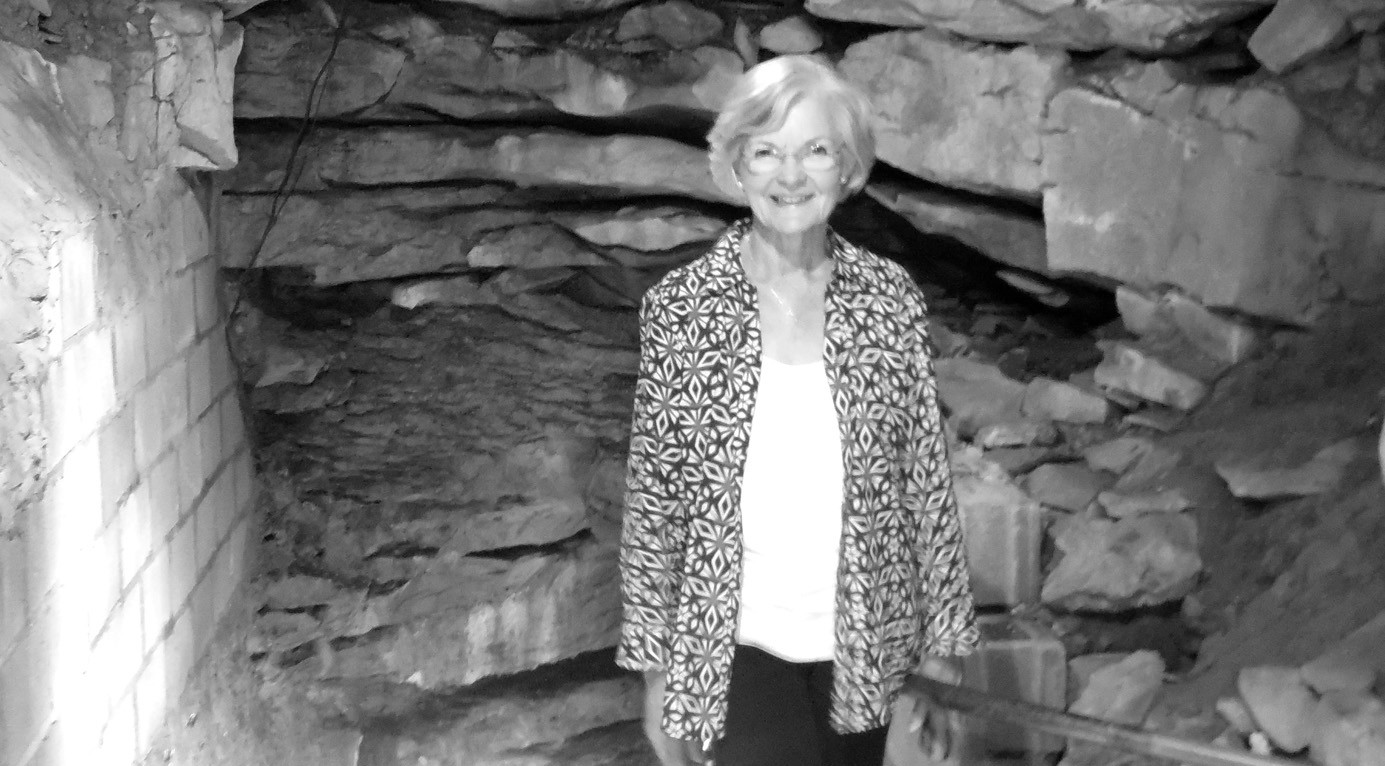 Dianne Bentley, the First Lady of Alabama, tours Rickwood Caverns last week.