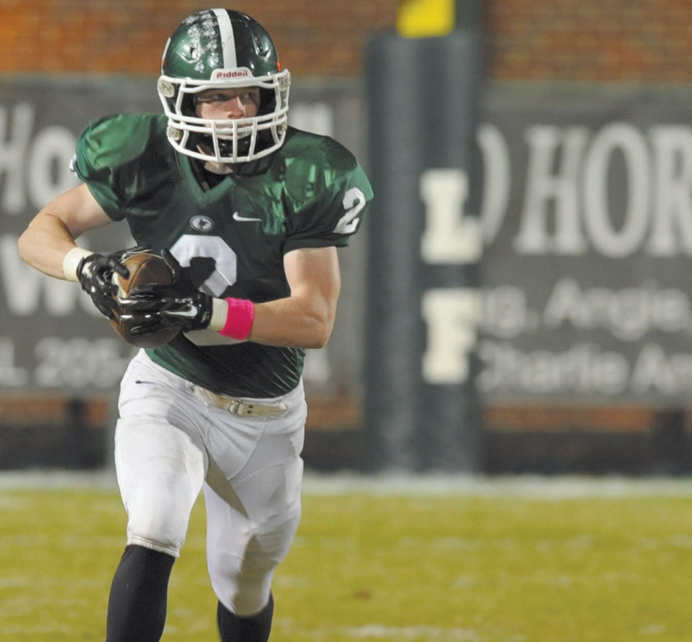 Locust Fork's Micah Stephens has plenty of room to run during the Hornets' 50-35 win over Priceville last Friday night. With the homecoming victory, Locust Fork is now 7-1 overall and 5-1 in 4A Region 7. Locust Fork travels to Blountsville to meet J.B. Pennington this week. With a win, Locust Fork could win or at the least tie for the region title.