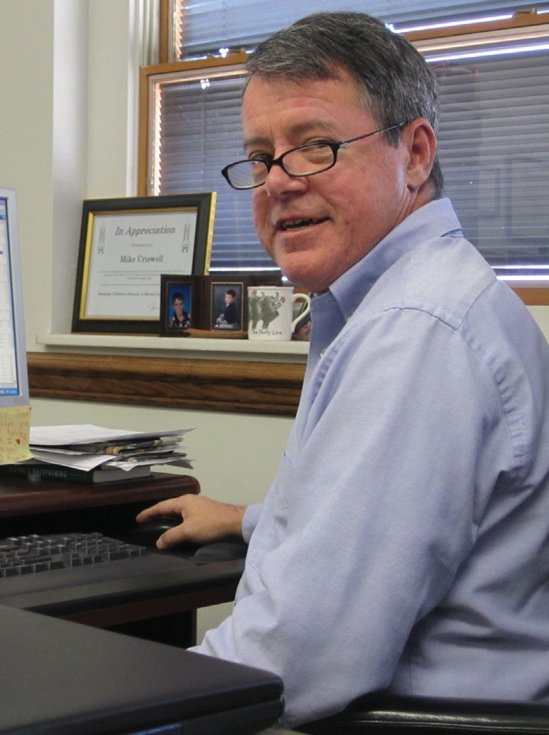 Circuit Clerk Mike Criswell will retire at the end of November.