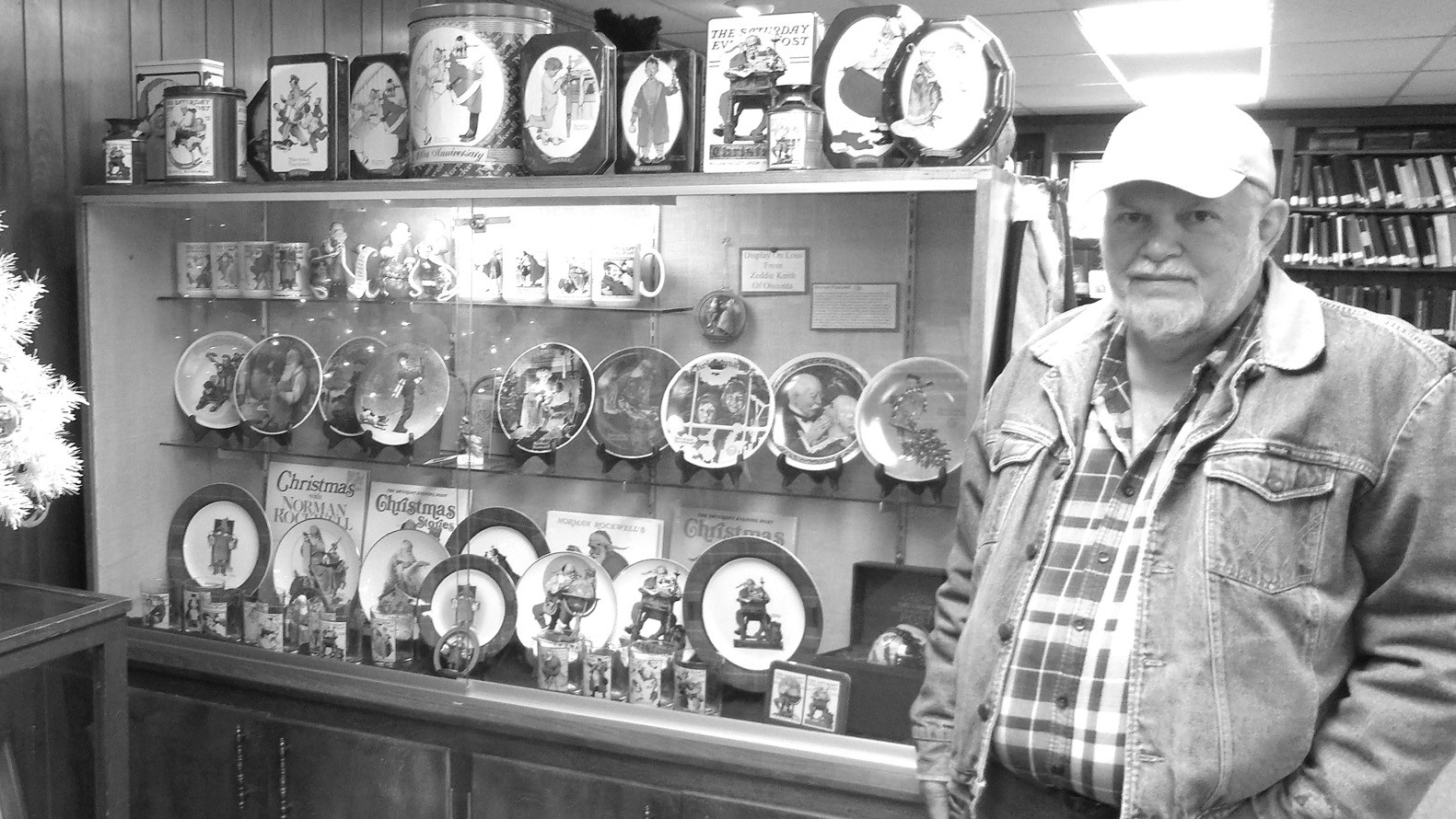 Zeddie Keith, of Oneonta, has loaned his Norman Rockwell collection to the Blount County Memorial Museum. The collection includes Christmas dishes, coffee cups, mugs, cookie tins, Christmas ornaments, and more and will be available for viewing throughout the holiday season. The museum is open Tuesday – Thursday, 8 a.m. until 5 p.m. – Nicole Singleton
