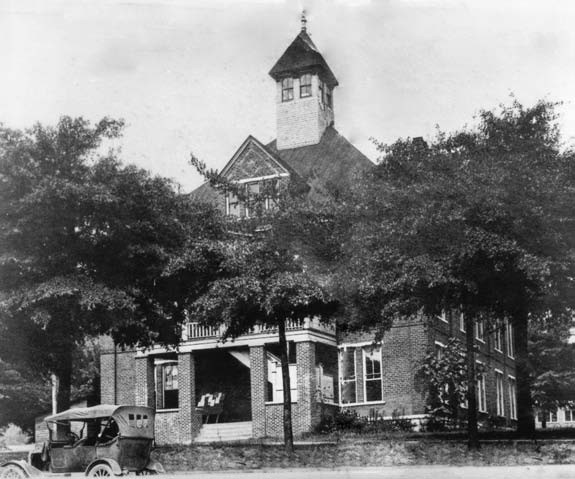 Blount County Courthouse, circa 1922