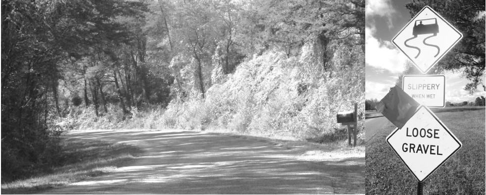 Reports from the public have identified the south end of County Road 57, Berry Mountian Road, as a dangerous stretch of road, particularly in wet weather. It's a steep grade with serpentine curves and a surface that drivers reported was slick. It's deceptive because the curves are not sharp, but sweeping – perhaps lulling drivers to believe they needn't reduce speed to negotiate them. Several accidents have occurred on the stretch from the top of the mountian to the U. S. 231 junction in Rosa. District 4 Commissioner Gary Stricklin told The Blount Countian last week that his crew has resealed about a half-mile of road from the bottom to the top of the mountain. The tar and gravel layer added should provide better traction for vehicle tires as they ascend or descend the curving road. A word to the wise: law enforcement officers working some of the accidents that have occurred have attributed them to excessive speed. – Ron Gholson
