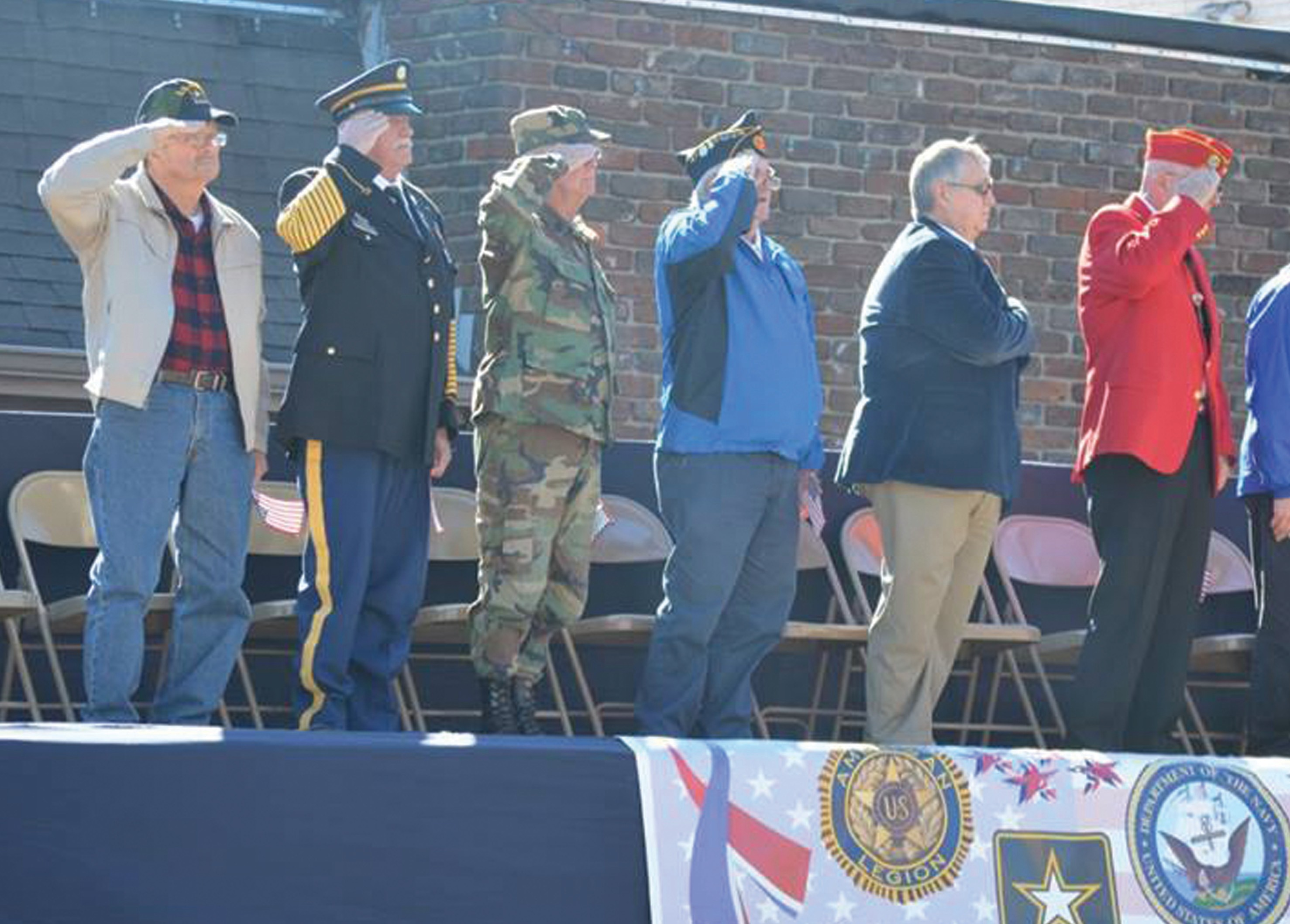 Even though the Blount County Veterans Parade was postponed due to inclement weather, the Nov. 14 date was bright and beautiful. With more than 40 entries, this parade was the biggest and best yet, according to organizers. Photo courtesey Janice Shell