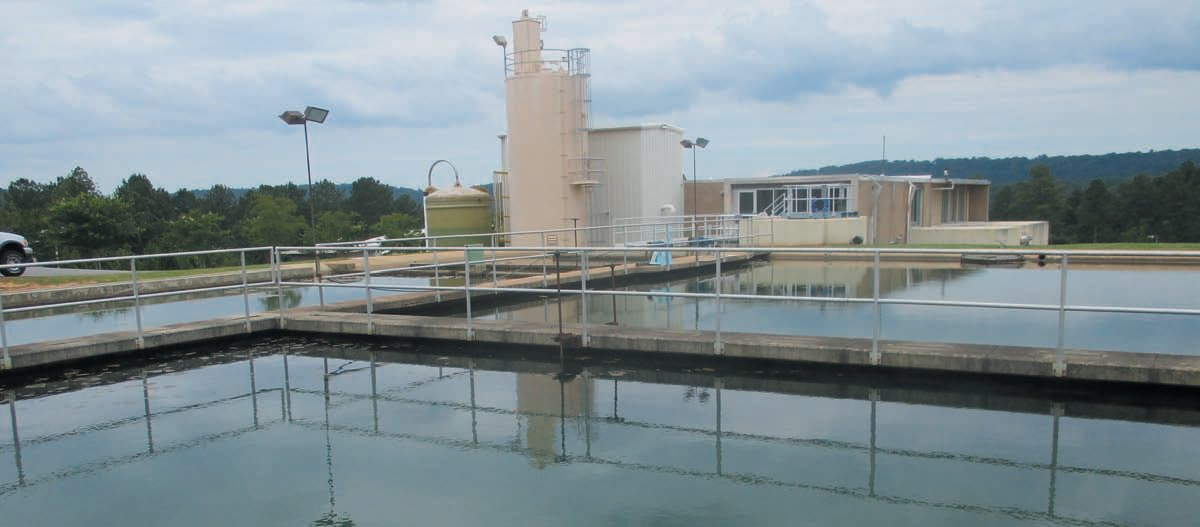 Oneonta Utilities water treatment plant on Calvert Prong near Rosa puts out more than 500,000 gallons of water a day during the summer. No major concerns are expected unless drought becomes much more severe and persistent than two unusually dry months so far.