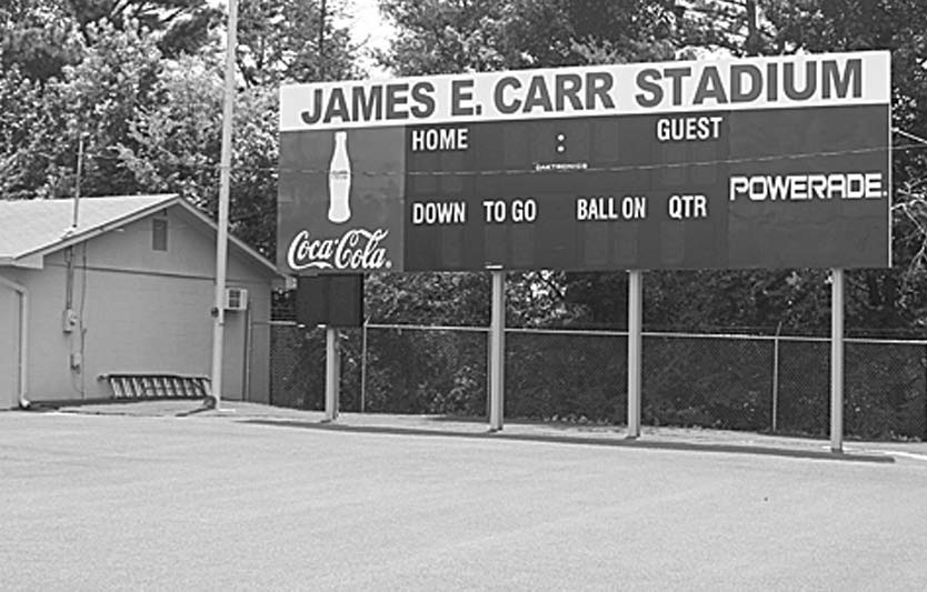 James E. Carr Stadium will be the site of the first game in the county this year when Appalachian hosts Southeastern Thursday, Aug. 24.