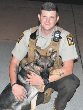 Deputy Josh Southwell and Mala